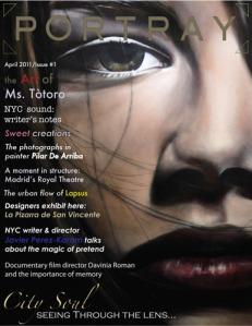 Portada Portray Magazine