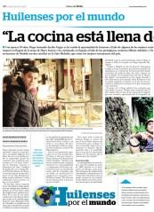 Perfil Diego Jacobo en el Diario del Huila